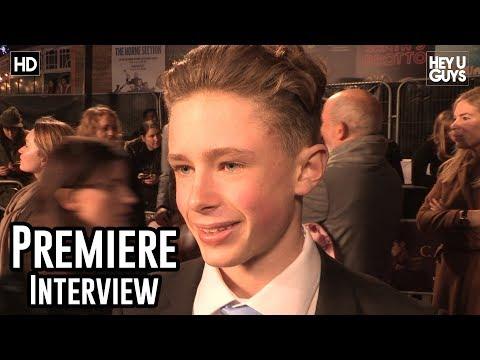 Finn Elliot   The Crown Season 2 World Premiere Interview