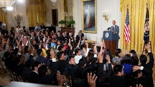 The President Speaks with Young Southeast Asian Leaders Initiative Fellows
