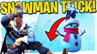 DON'T Fall For This New 200 IQ Snowman Trick! - PS4 Pro Fortnite BR