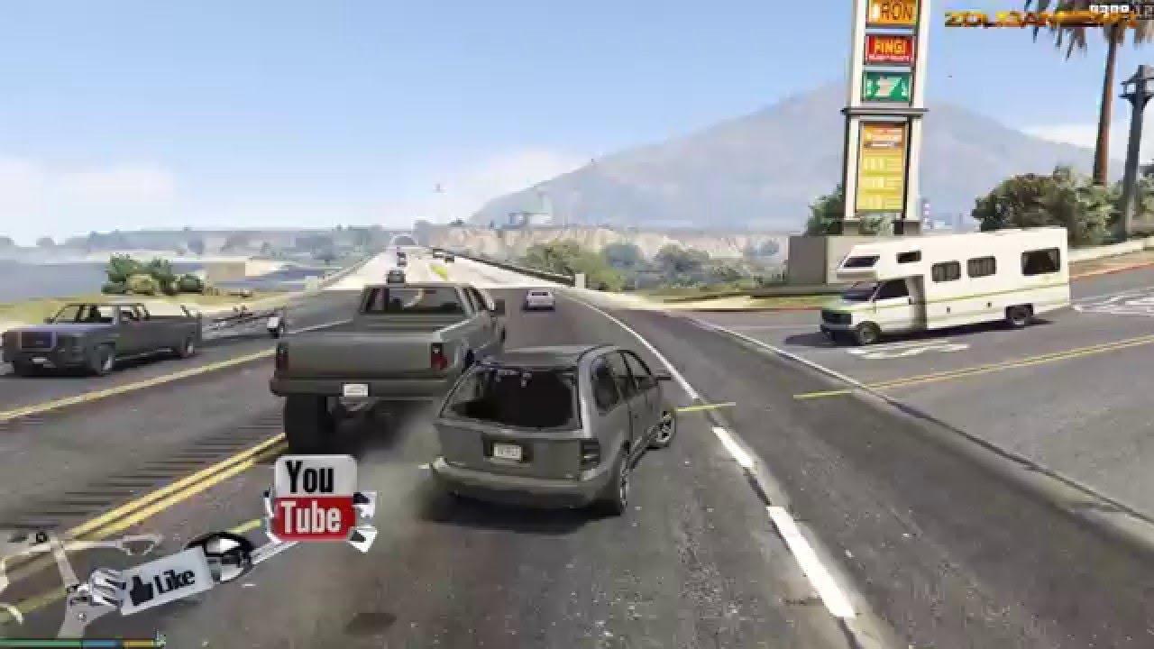 Gta V Car Crash