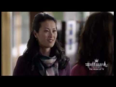 A few s of Edmonton's Olivia Cheng from Christmas movie