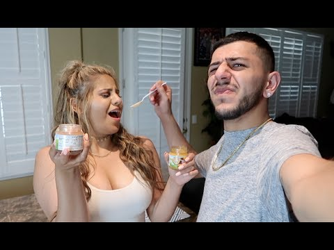 NASTY BABY FOOD CHALLENGE! (Loser has to...)