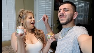 NASTY BABY FOOD CHALLENGE! (Loser has to...) thumbnail