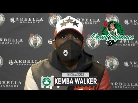 Kemba Walker Postgame Interview | Celtics vs Bucks