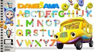 Learn to write Alphabets with Dave and Ava App [Phone Demo] thumbnail