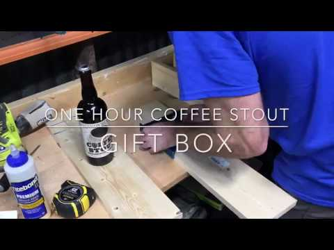 Lazy Guy DIY: One Hour Coffee Stout Gift Box
