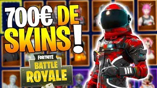 ALL MES SKINS on Fortnite Battle Royale! (700) 1/2