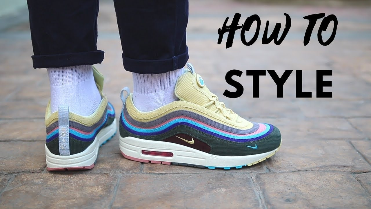 10b018435c How To Style Nike Air Max 1/97 Sean Wotherspoon - YouTube