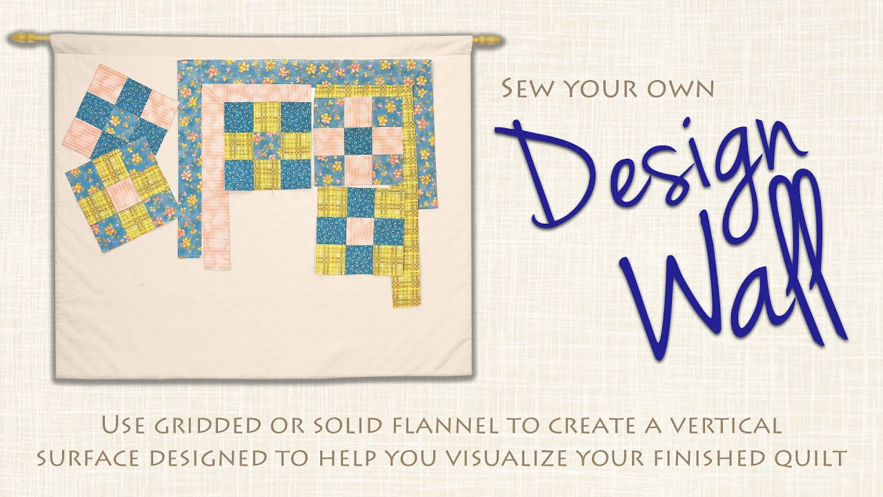 Portable Flannel Design Wall Visualize Your Quilt Before