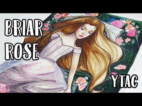 YTAC Grimm's Fairytale - Sleeping Beauty 【Watercolor Speedpaint】
