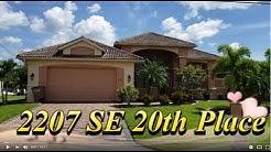 GULF ACCESS DREAM HOME! 2207 SE 20th Place, Cape Coral, FL  33990
