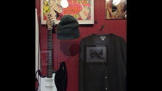 Nirvana exhibit walkthrough - Rock n' Roll Hall of Fame in Cleveland, Ohio 2014