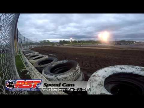 Patriot Sprints Heat Race Speed Cam @ Fonda Speedway - 5/27/17 - DP Imaging