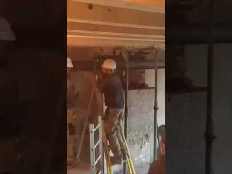 Chimney stack removal