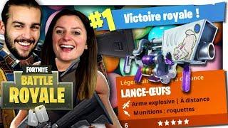 TOP 1 AVEC LE LANCE-ŒUF DE PÂQUES ! | FORTNITE DUO FR