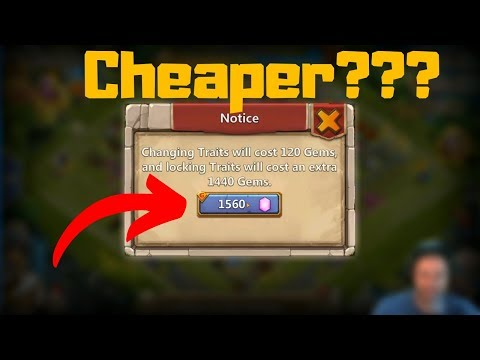 Discount Trait Rolling | Leveling Insignia | Castle Clash