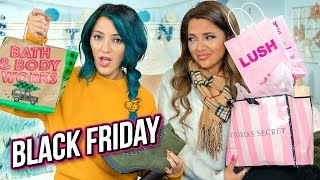 Black Friday Haul 2018! Niki and Gabi