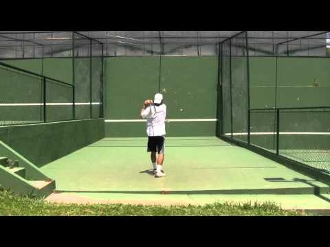 How To Play Tennis - Tennis Tips: Working the Wall