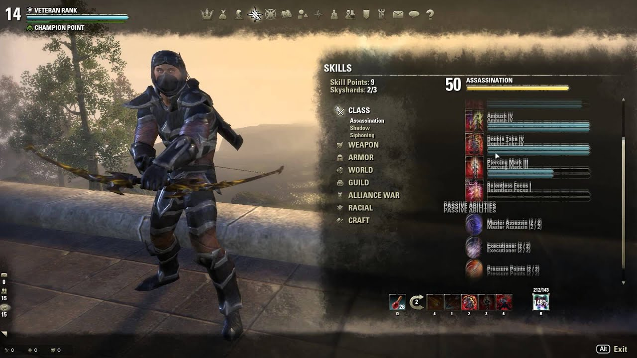 Stamina Nightblade PvP Build - Elder Scrolls Online - P ...