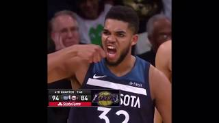 Karl-Anthony Towns and Jimmy Butler funny moments