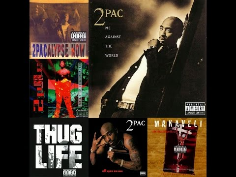 2Pac Discography Ranking
