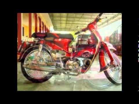 Modifikasi Honda C70 Motor Pitung Magelang Youtube