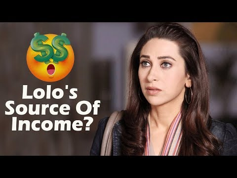 Karishma Kapoor's Source Of Income??