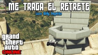 ME TRAGA EL RETRETE! - Carreras GTA V Online con Willy y Vegetta - [LuzuGames]