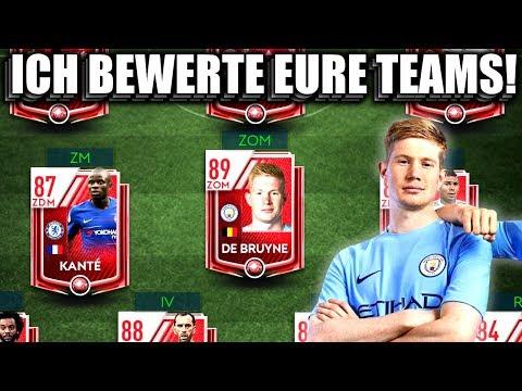 ICH BEWERTE EURE TEAMS! #1 😱🔥 FIFA 19 MOBILE Beta