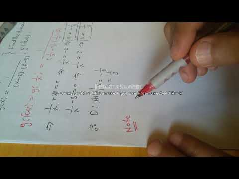 How to find the domain of a Composite function: General Mistake: Part 1