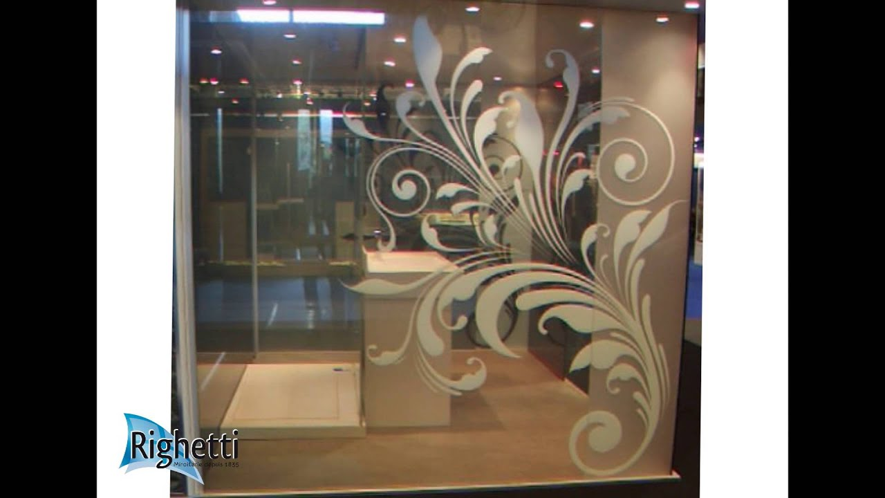verre feuillet opacit contr l e fabriqu par la miroiterie righetti youtube. Black Bedroom Furniture Sets. Home Design Ideas