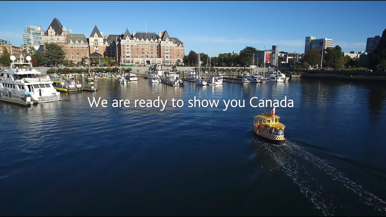 Air Canada: Ready to show you Canada