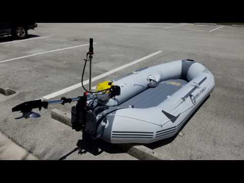 Bestway Hydro-Force Marine Pro With Sky 2-stroke 2.5 HP Outboard
