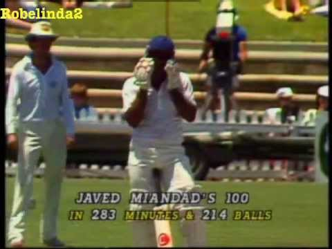 Javed Miandad 131 vs Australia 3rd test 1983 Adelaide