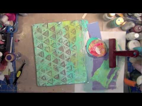 Creative Play: Intro to Gelli Printing