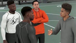 Crazy 2v2 Basketball vs Zion Williamson! NBA 2K21 My Career EP 13