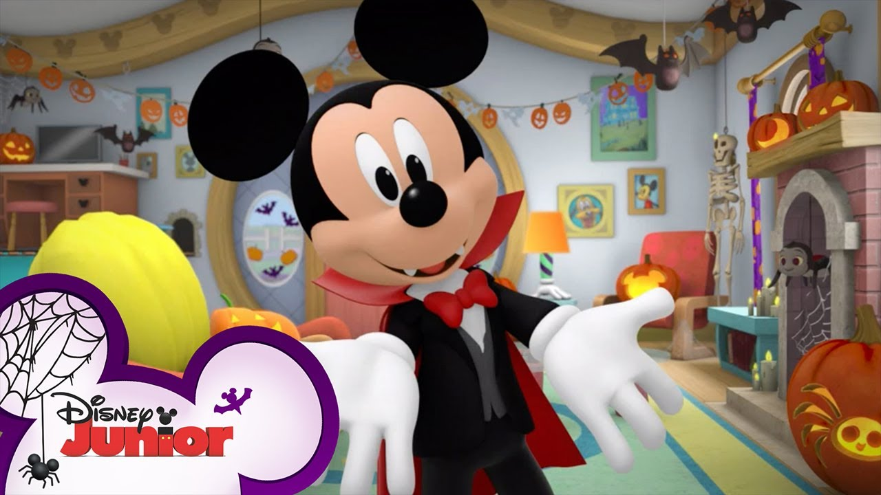 Monster Boogie Moves ☠️   Halloween Games   Compilation   Mickey's Trick or Treats   Disney Junior