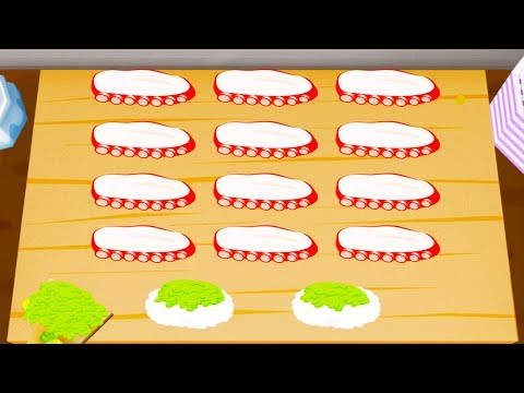 Fun Play Cooking Sushi Kids Games - Learn to Prepare Tasty Food TO-FU Oh!SUSHI Kitchen Children Game