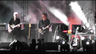 The Cure - One Hundred Years (Foro Sol 21.04.2013)