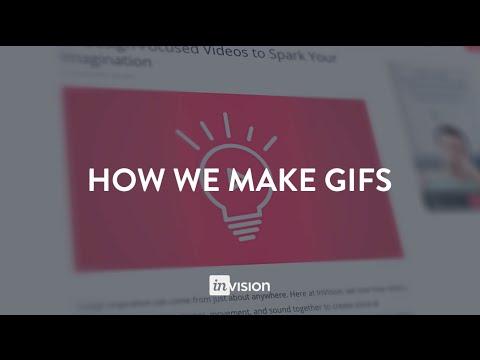 How to make animated GIFs