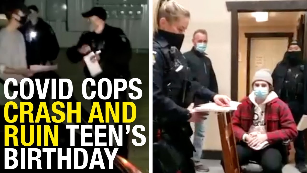 Cops crash teen's 18th birthday, issue $1,300 fine over 10-person gathering