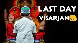 Ganpati Visarjan Whatsapp Status | Ganpati Bappa Morya | Ganpati Visarjan Status Video 2018
