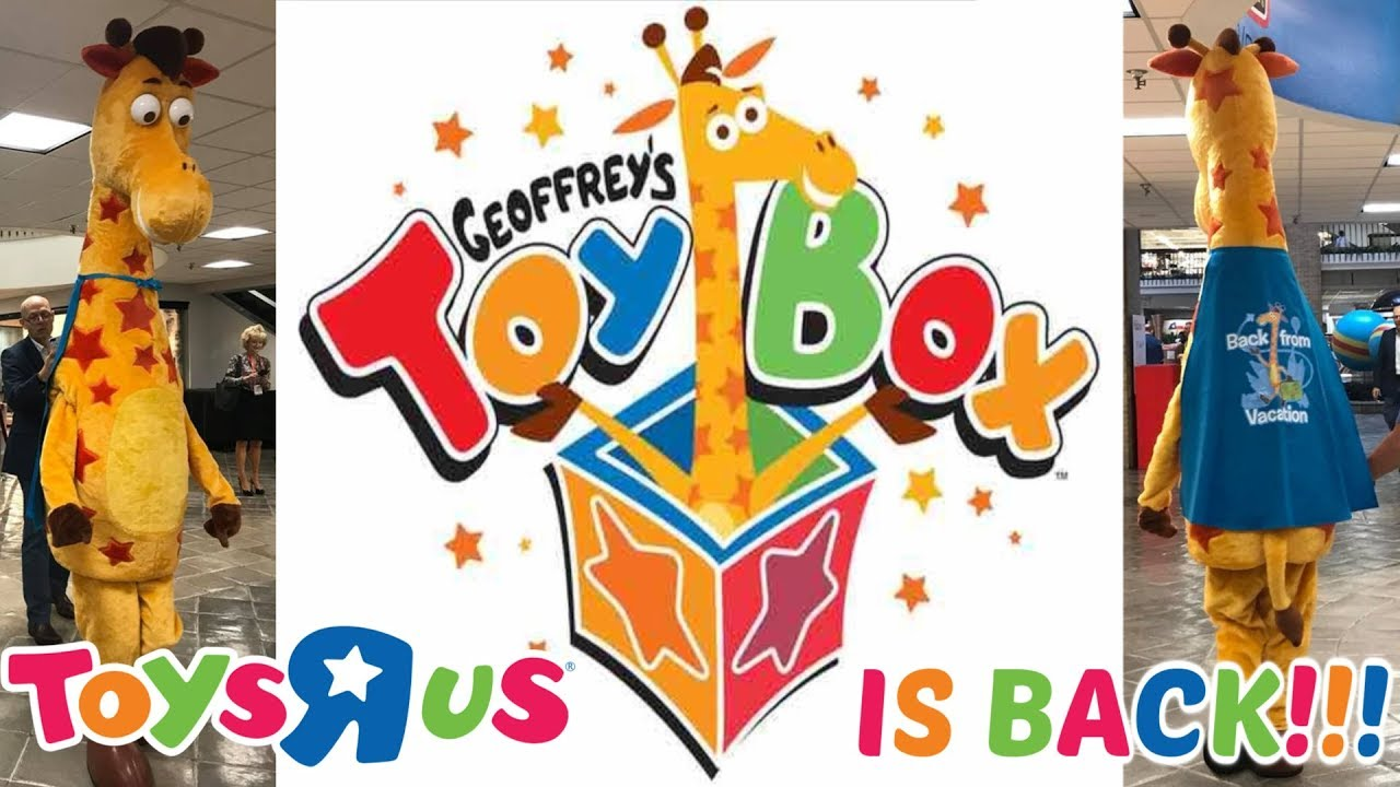 Toys R Us Will Return Rebrand As Geoffrey S Toy Box Youtube
