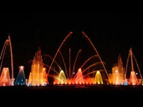 jp park,musical fountain,bangalore,india