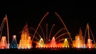 jp park,musical fountain,bangalore,india
