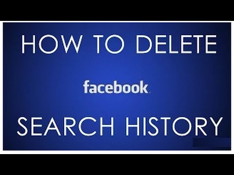 How To Clear Facebook Search History In Hindi/urdu