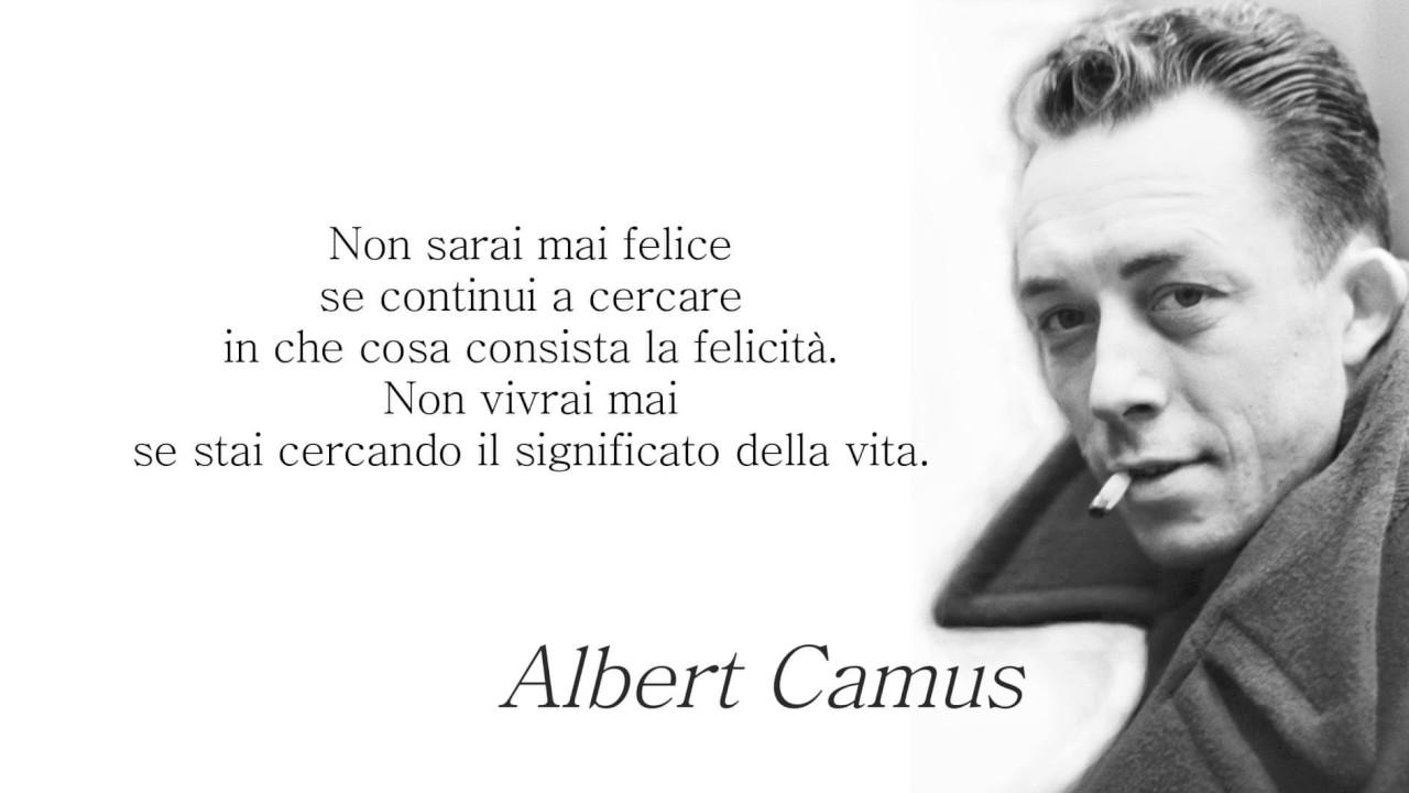 Albert Camus Aforismi Gabriele Greco Youtube