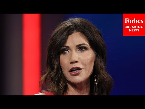 'Help Me Save America': Kristi Noem Says Governors Must Step Up During CPAC 2021 Speech