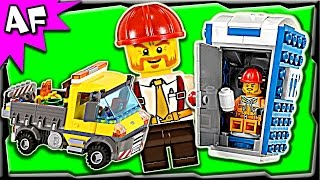 Lego City Construction Service Truck 60073 Stop Motion Build Review