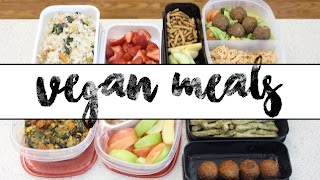 BACK TO SCHOOL | Vegan Meal Prep Ideas
